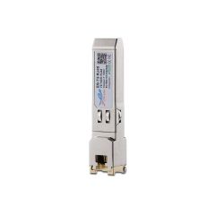 10/100BASE-T Copper SFP Transceiver 100M