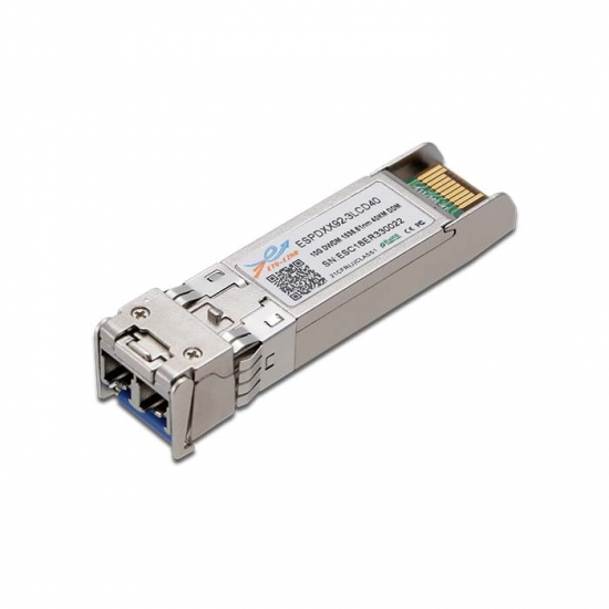 10G SFP+ DWDM 40KM LC Optical Transceiver