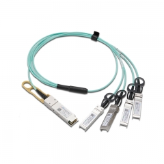 QSFP+ (Quad Small Form-factor Pluggable Plus) copper direct-attach cables are suitable for very short distances and offer a highly cost-effective way to establish a 40-Gigabit link between QSFP+ ports of QSFP+ switches within racks and across adjacen