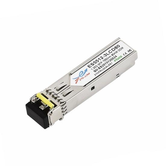 1.25G DWDM SFP 40KM LC Optical Transceiver