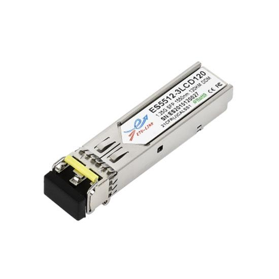 1.25G DWDM SFP 120KM LC Optical Transceiver